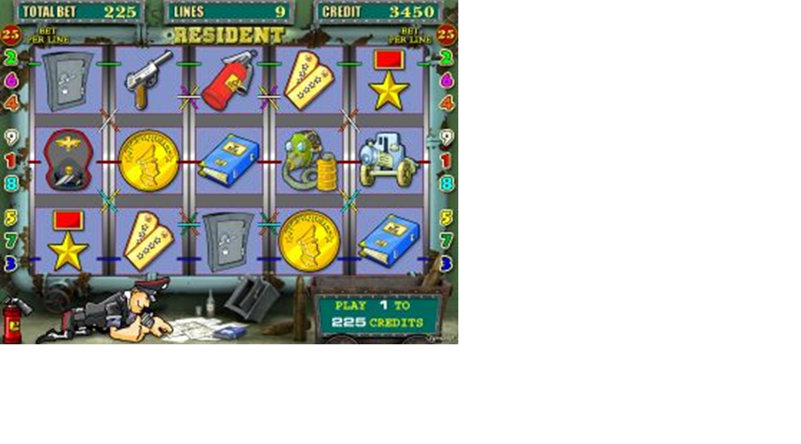 Сейфы игровой автомат Резидент играть
