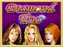 Игровой автомат Алмазное Трио бесплатно Diamond Trio играть