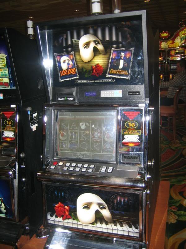 Автомат для онлайн-заработка The Phantom Of