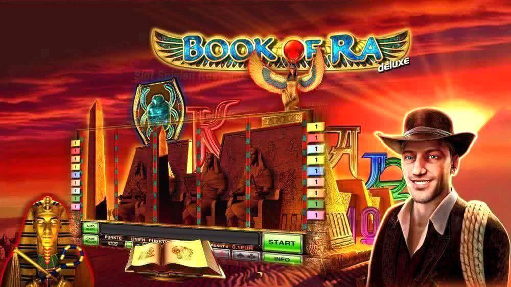 Игровой автомат Книжки - играть бесплатно в Book of Ra