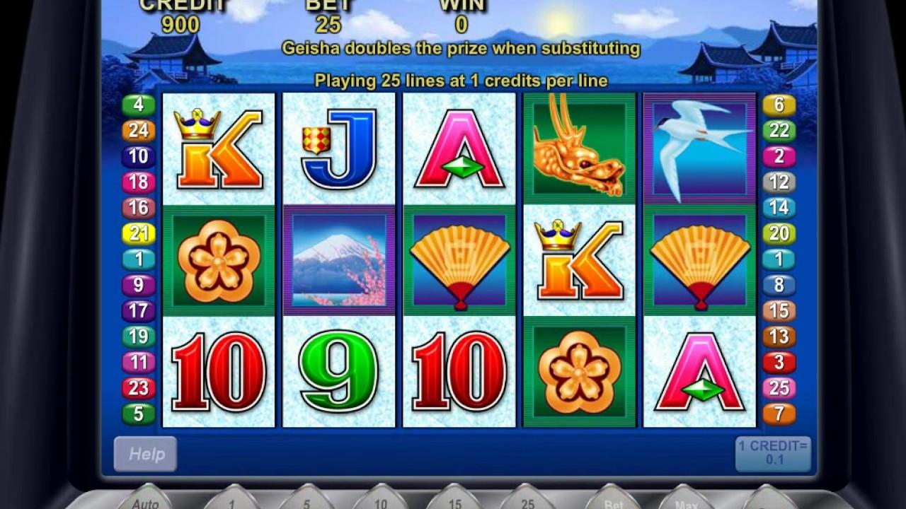 Geisha Wonders 777 игровой автомат – играть в казино Вулкан