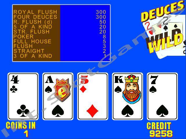 Игровой автомат Deuces Wild от компании NetEnt играть
